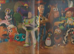 Walt Disney Eyes & Ears Cast Magazine November 18 1999 Toy Story 2