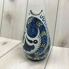 Gouda Zuid Holland Vase Bleu de Paris 094/3 Pottery Art Vase