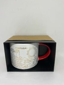 Starbucks You Are Here Collection Portugal Holiday Coffee Mug New with Box