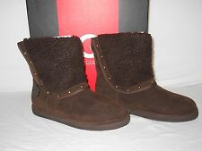 G By Guess New Womens Ganya Dark Brown Boots 8 M Shoes NWB