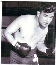 "Boxing JAMES BRADDOCK Glossy 5"" x 6"" Black & White Photo Heavyweight Champion"