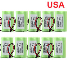 (10 Pack) 1400mAH For Uniden BT-1007 BT1007 NiMH Rechargeable Cordless Battery