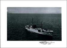 USS Pueblo photo signed by Capt'n Lloyd Bucher  - Pueblo Spy Incident
