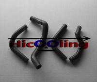 Black silicone radiator hose for SUZUKI DRZ400E 2003-2007 03 04 05 06 07