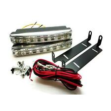 2 x 16cm 6000K White DRL Daytime Running Lights with Indicator - Toyota Avensis