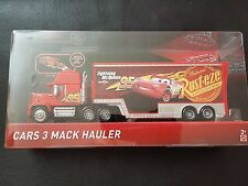 DISNEY PIXAR CARS 3 MACK HAULER 2017 SAVE 5% WORLDWIDE FAST SHIP