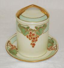Antique Rosenthal Secessionist Condensed Evaporated Milk Jar Unsigned Donatello