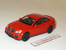 Welly Daimler Mercedes Benz C63 Amg Bright Red 4.75 Inches Free Ship