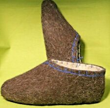Wool valenki boots eco friendly felted slippers Keep house clean
