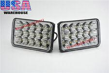 2PCS LED Headlights For Kenworth T400 T600 T800 W900B W900L Classic 120/132 AAAA