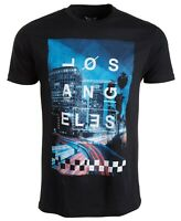 NWT UNIVIBE Men's 100% Cotton LA Nights Los Angeles Graphic T-Shirt Tee S M XL