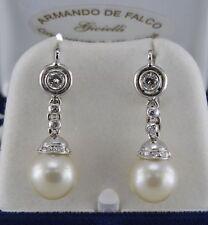 Pearl White Gold Vintage Fine Earrings