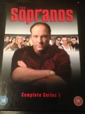 THE SOPRANOS DVD SERIES 1 BOX SET RARE JAMES GANDOLFINI MOB GANGSTER CRIME