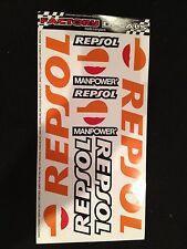 REPSOL  Sponsors Graphics / Stickers / Decals   REPSOL