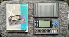 Texas Instruments Ti-92 Graphing Calculator With Guidebook (Pre-Owned)