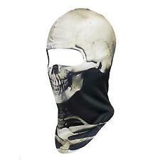 Skeleton Ghost Skull Face Mask Biker Balaclava Costume Halloween Cosplay