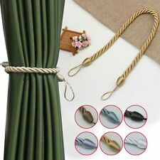 1Pc Handmade Weave Curtain Tieback Curtain Holder Clip Buckle Home Decorations