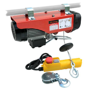 Electric Hoist 500W With 250kg Lifting Capacity Engine Workshop