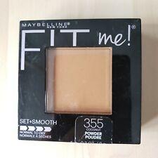 Maybelline Fit Me! Matte Face Pressed Powder Makeup Coconut #355 0.3oz
