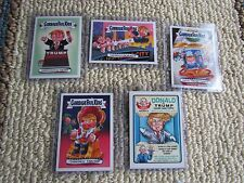 Topps Garbage Pail Kids GPK Disgrace to White House Lot of 5: 121 to 125