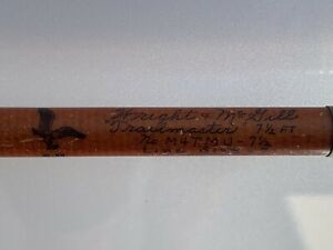 Vintage Wright & McGill Trailmaster 4 piece Pack Rod Spinning Made In U.S.A.