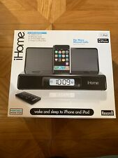 iHome Base Altoparlante Cassa Iphone Ipad Ipod-Portable Speaker-Docking Station