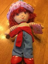 "Strawberry Shortcake Doll Stuffed Plush Toy 13"" Kellytoy NWT"