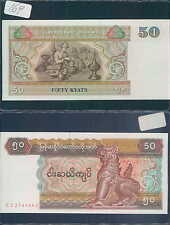 MYANMAR 50 KAYAT 1997 UNC (rif. 169)
