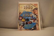 Flickback Greeting or Birthday Card With DVD  For Those Born in 1980    (v417)