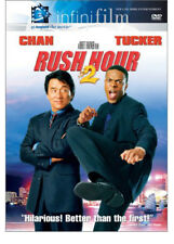 Rush Hour 2 DVD 2001 Action Funny Movie Comedy Jackie Chan Chris Tucker