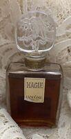 RARE-1950's MAGIE Lancôme  Parfum-Etched Crystal Top-w/Rare Import Label 1 oz.