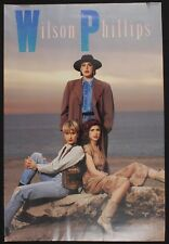 "Wilson Phillips promotional poster 1990 Sbk Records 24"" x 36"""