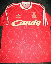 Vintage Adidas Liverpool Football Candy 1988 1990 Soccer Jersey Shirt Sz 40 42