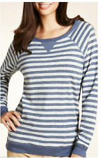 Marks and Spencer Women's Striped Long Sleeve Jumpers & Cardigans