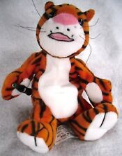 Coca Cola Company:Curry the Tiger India Plush Beanie Toy 1998 With Tag. V.G.C.