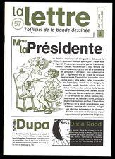 LA LETTRE DARGAUD N ° 57    CESTAC       Jan / Fev  2001