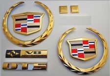 NEW ON SALE! Cadillac DTS 2006 2007 2008 2009! 24K Gold Plated Emblem Package!
