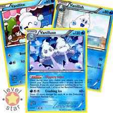 VANILLUXE Next Destinies 33/99 Rare Shiny Pokemon Card