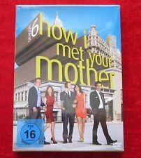 How I met your Mother Die komplette 6. Staffel, DVD Box Season, Neu