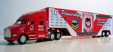 KENWORTH T Series Diecast Red Truck 1:66 Scale St.George Dragons Custom Graphics
