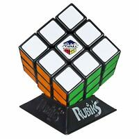 Classic Rubiks Cube Puzzle Game Twist Turn Rotate Display Stand Solution Guide