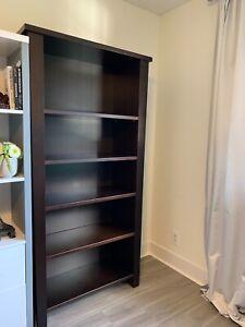 Unique Solid Wood 5-Tier Bookcase