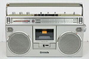 Panasonic Platinum RX-5090 AM-FM Vintage Cassette Boombox REFURBISHED Video