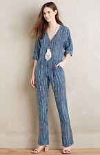 NEW Carolina K Many Moons Silk Jumpsuit Size Large