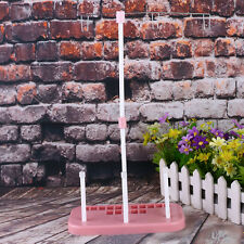Pink Sewing Thread Stand Adjustable 3 Spools Plastic Rack Bobbin Holder Machine