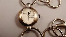 CITY ladies solid 835 silver vintage watch handwinder NOS