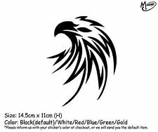 EAGLE HEAD Reflective  Car  Truck  Boat Stickers Decals  best gift-