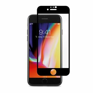 Moshi iVisor Screen Protector for iPhone SE 2020/ 8/ 7, Anti-glare, Easy-inst...