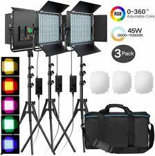 Pixel K80RGB 3 Head RGB Video LED Light Kit