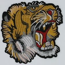 Terrifying Tiger: Embroidery Patch
